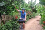 Biking on Ho Chi Minh Trail